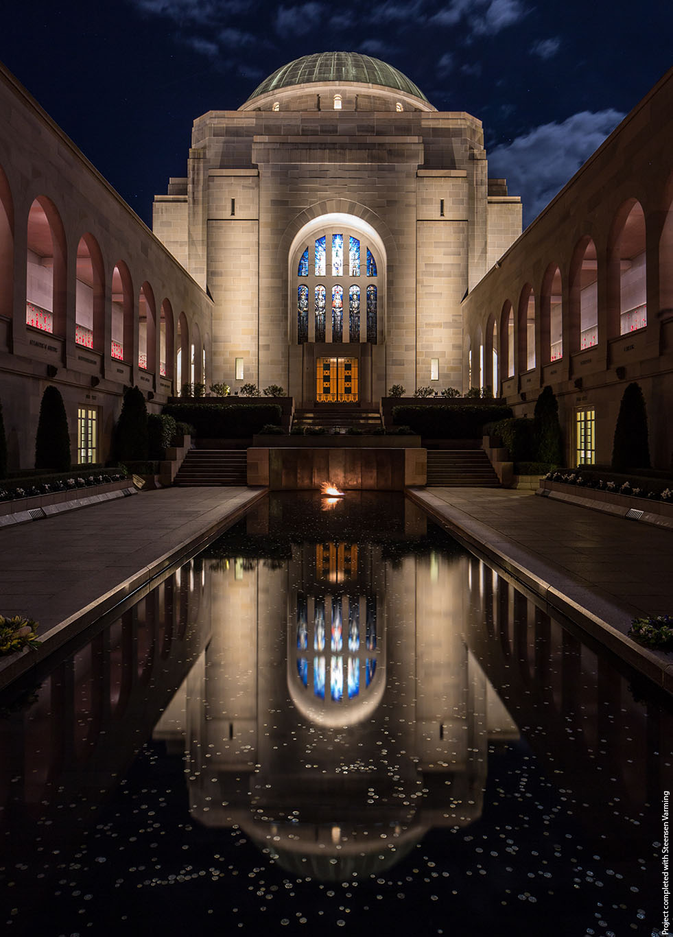 Australian War Memorial - Pool of Reflection