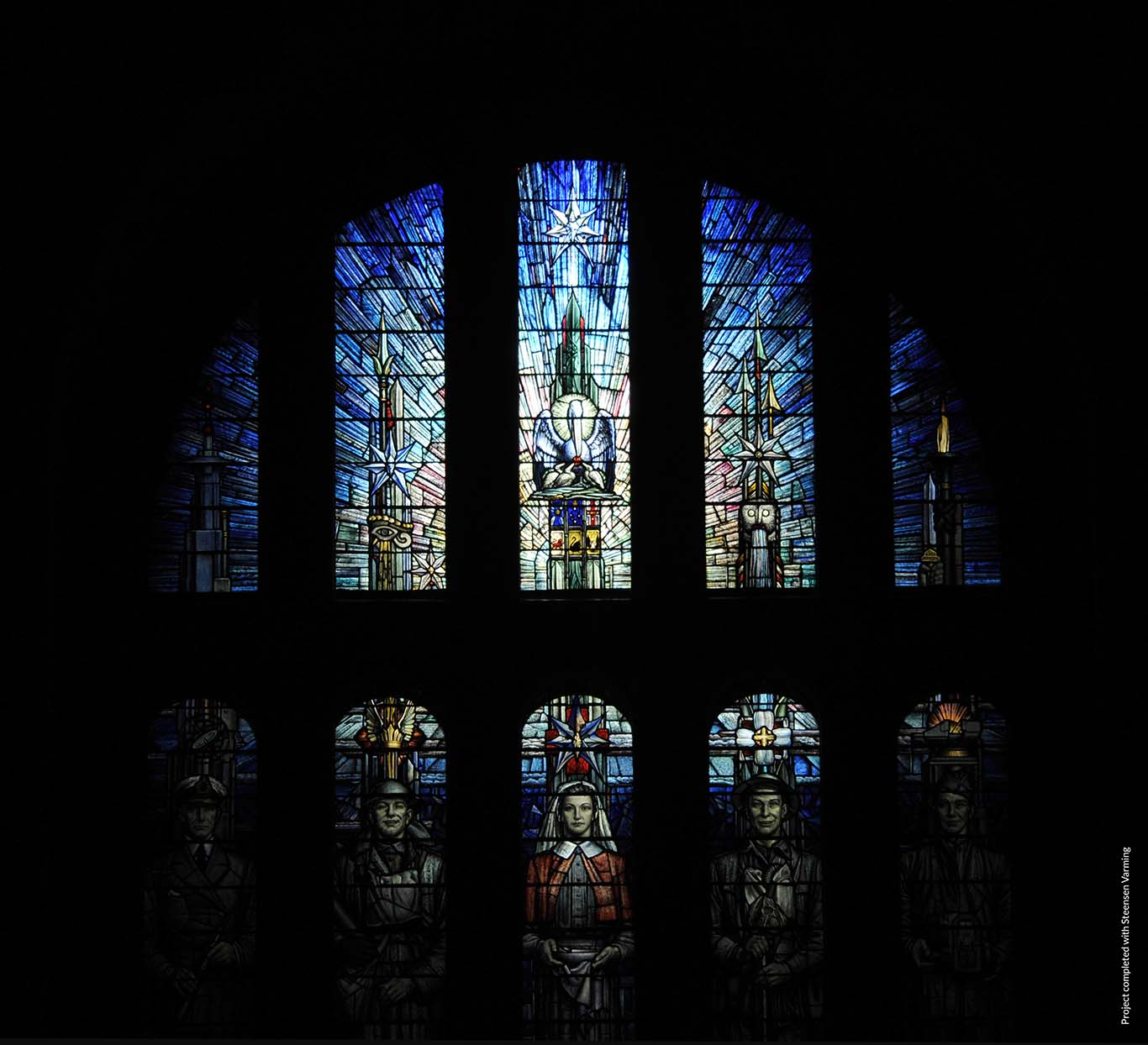 Australian War Memorial - Stain Glass